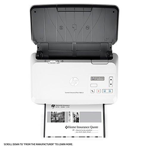 HP ScanJet Enterprise Flow 7000 s3 Sheet-feed OCR Scanner by HP (Image #16)