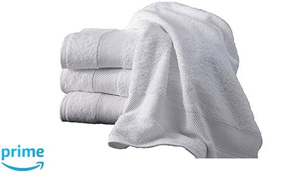 Toallas Hotel SPA 420 gr/m², diversa dimensión. 100% de algodón Peinado. (5 toalla de baño grandes 92x180 cm): Amazon.es: Hogar