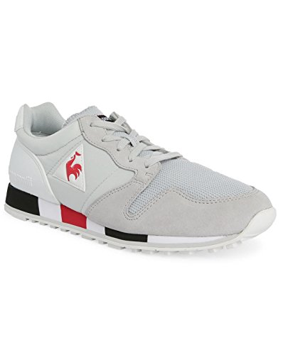 Le Coq Sportif - - Uomo - Sneakers Omega Suede Mesh Gris Pour Homme -