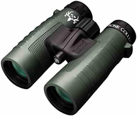 Bushnell Binocular Bundle: Trophy XLT 10x42 Binoculars (Bone Collector Edition) + Deluxe Binocular Harness