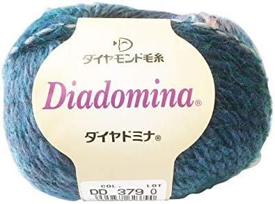 ダイヤ毛糸 ダイヤドミナ 毛糸 並太 Col.379 マルチ 系 40g 約112m
