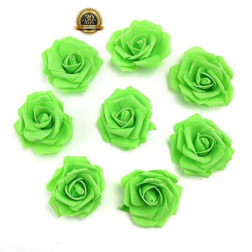 green rose heads - 1