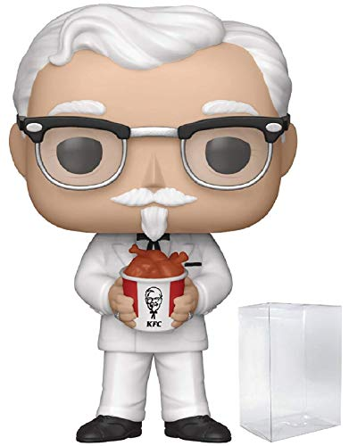 Funko Ad Icons: KFC - Colonel Sanders Pop! Vinyl Figure (Includes Compatible Pop Box Protector Case) (Kentucky Fried Chicken 11 Herbs And Spices Recipe)