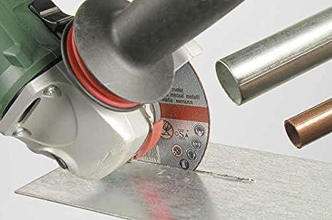 kwb 712032 Finos Amoladora Angular Flexible para Acero Inoxidable en Caja de Almacenamiento con tap/ón para los o/ídos Discos de corte disco de diamante 125 x 1,0 x 22,23 /Ø 125 mm