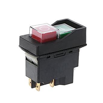 KLD28A Electric Waterproof Magnetic Button Switch ON OFF Explosion-proof IP55