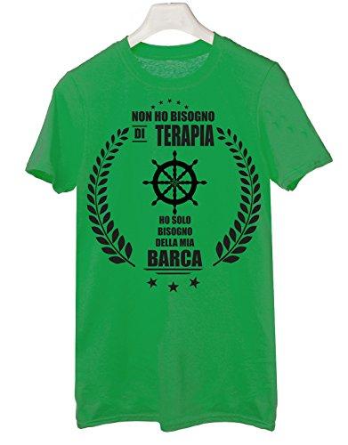 Tshirt Le Tshirteria Mia Di Ho BarcaTutte Non Taglie Verde Delle Bisogno Solo By Terapia yO0Nnvmw8