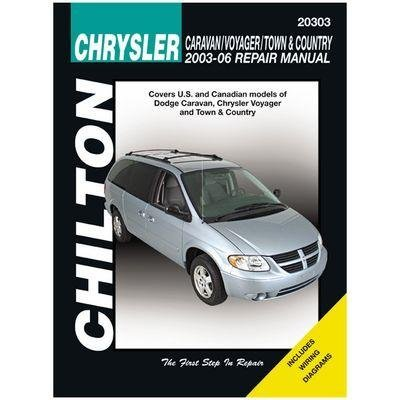 amazon com: chrysler caravan, voyager, town & country chilton repair manual  (2003-2007): automotive