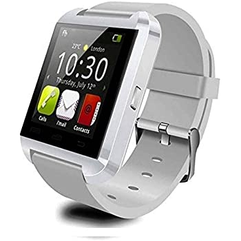 Pandaoo U8 Bluetooth Smart Watch for Android Smartphones - White