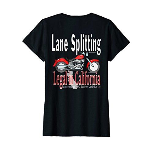Motorcycle Splitting Lanes - 1