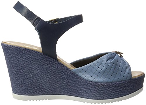 Piazza Women's 910710 Sandals, Blue Blue (Blau 5)