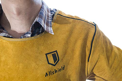 Allshield A44-1874 Welding leather Clothes Coat with Sleeves by Allshield (Image #6)