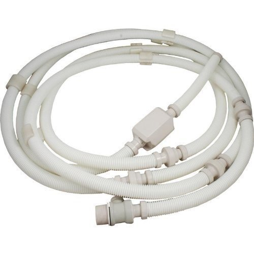 Pentair LX209 White Complete Feed Hose Replacement Kit Legend II and Kreepy Krauly Legend II Automatic Pool Cleaner