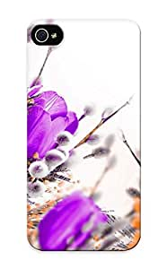 For Ipod Touch 4 Case Cover(bright Flower ) Gift For Christmas