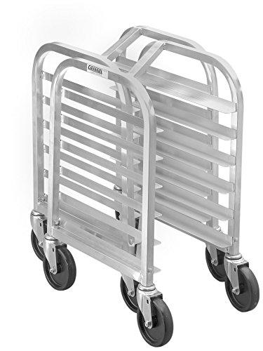 (Channel Manufacturing HT307N 7 Pan End Load Undercounter Nesting Bun / Sheet Pan Rack - Assembled)