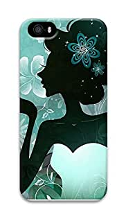 iPhone 5 5S Case Girly Figure 3D Custom iPhone 5 5S Case Cover