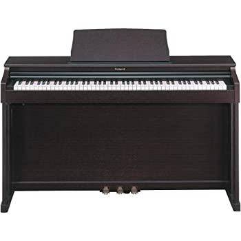 roland hp 201 mh digital piano mahogany finish musical instruments. Black Bedroom Furniture Sets. Home Design Ideas