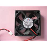 2 pcs Brushless DC Cooling Fan 5V 6015S 7 Blades 2 wire 60x60x15mm Sleeve-bearing Skywalking