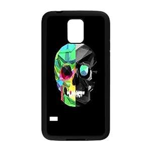 Samsung Galaxy S5 Cell Phone Case Black_Skull Art FY1390776
