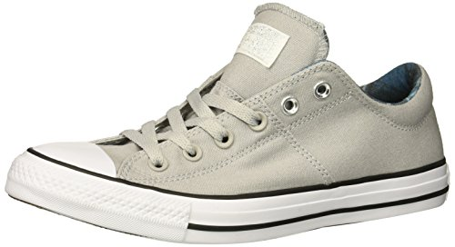 All Star Multi Eyelet - Converse Women's Chuck Taylor All Star Madison Low TOP Sneaker, ash Grey/White/Black, 6 M US