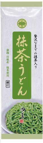Ikeshima green tea noodles 200gX20 pieces by Ikeshima