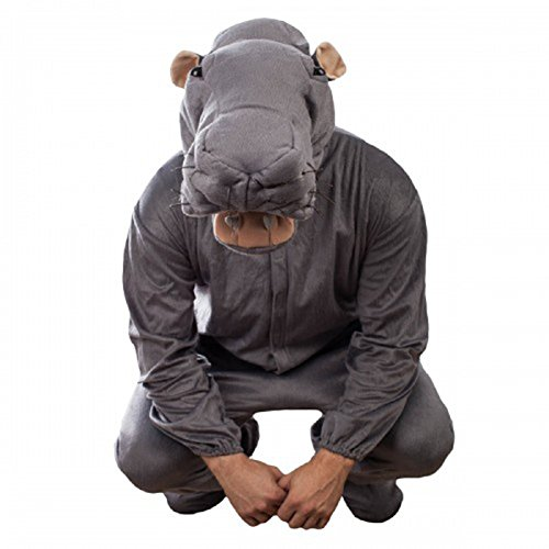 NCIS Abby's Plush Animal Toy Bert the Farting Hippo Costume -