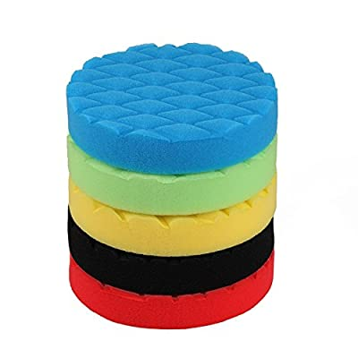 SPTA 6 inch (150mm) Soft Buff Polishing Pad Sets