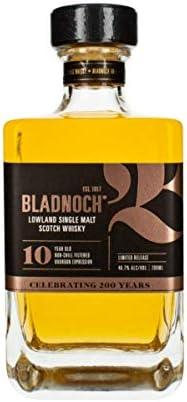 Bladnoch 10 Años Malta Whisky - 700 ml