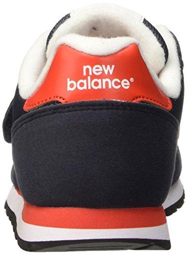 New Balance Nbkv373vrg, Zapatillas de Gimnasia Unisex Niños Blu (Navy Red)