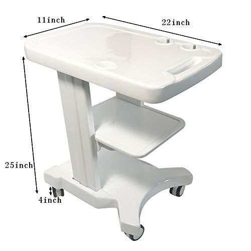INTBUYING Mobile Trolley Cart for Portable Ultrasound Imaging Scanner System Holder Wheel Utility