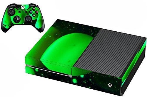 Lava Controller - Xbox One Lava Lamp Skin For Console And Controller Green Skin For Xbox One VWAQ-XGC10