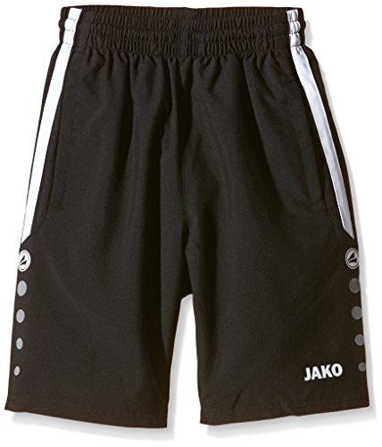 Jako Kinder Shorts Performance, Schwarz/Weiß, 140, 6297
