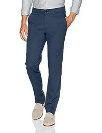 Men's Coastal Comfort Slim Fit Superflex Waist Flat Front Pant