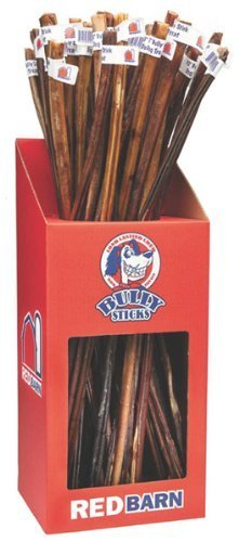 Redbarn - Bully Stick Pet Treats 36''Inches - 25 Pieces - Part : 236001
