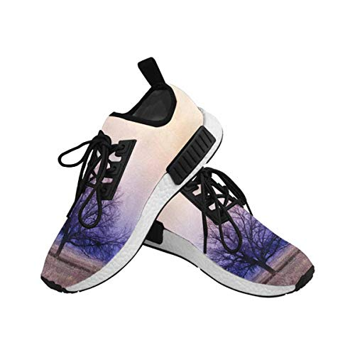 InterestPrint Women's Draco Running Comfort Sports Athletic Shoes Trees 6 B(M) US by InterestPrint