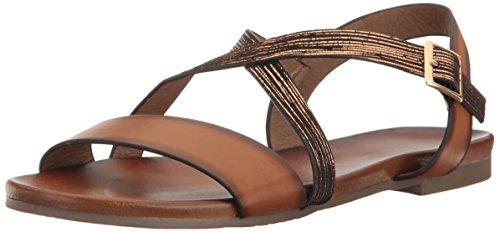 Not Rated Women's Novara Gladiator Sandal, Tan, 6.5 M US - 1/2' Platform Shoe