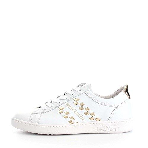 Nero Giardini - Zapatillas para mujer multicolor White/Platinum White/Platinum