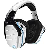 Logitech G933 Artemis Spectrum Snow Wireless 7.1 Gaming Headset, White (Renewed)