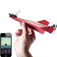 POWERUP 3.0 Kit de conversión de aviones de papel controlado por teléfono inteligente original - Durable avión de control remoto a control remoto para principiantes, funciona con la mayoría de los libros de papel de avión
