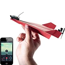 POWERUP 3.0 Smartphone Controlled (Bluetooth) Paper Airplane Kit for Paper Aeroplanes