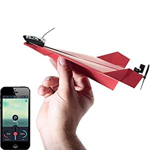 POWERUP 3.0 Original Smartphone Controlled Paper Airplanes Conversion Kit - Durable Remote Controlled RC Airplane for Beginners, iOS and Android App