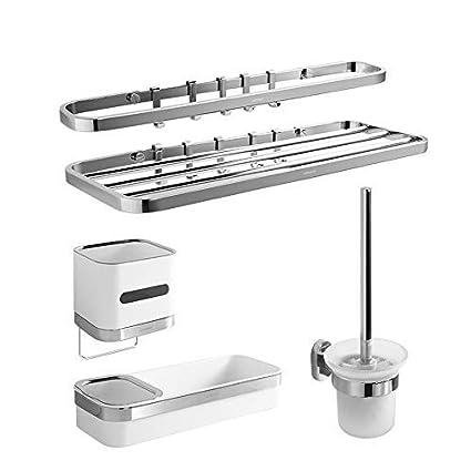 BAIF Estantería de baño Hardware Juego de Accesorios de ...