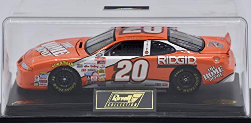 2000 - Revell Collection/NASCAR - Tony Stewart #20 - Home Depot - Rookie of the Year 1999-1:24 Scale Die Cast - Display Case - Rare - OOP - Mint ()