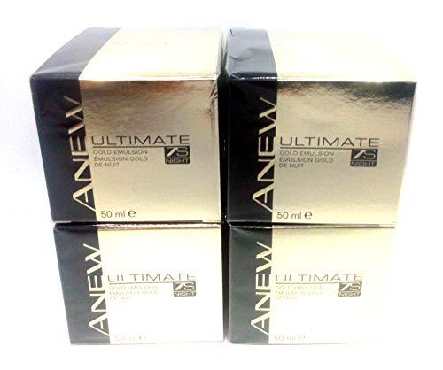 4 x AVON Anew Ultimate 7s Night Gold Emulsion 50ml – 1.7 fl.oz. SET
