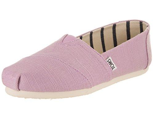 TOMS Women's Classic Soft Lilac Casual Shoe 5.5 Women - Tom Purple