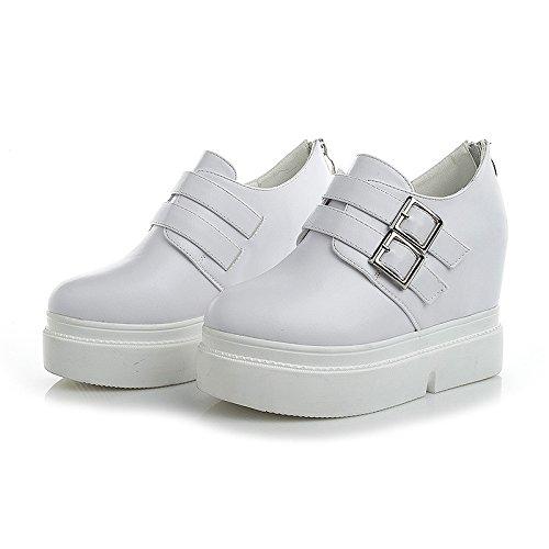Y Tacón Lace Mesa Up KHSKX De Impermeable Zapatos Grueso InglesesBlancoTreinta De Fondo Siete Zapatos Mujer Alto T6Y1dYwqx
