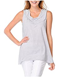 Habitat Clothes Sleeveless Striped Cowl