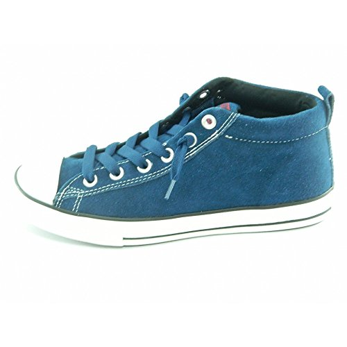 Converse All Star Street Cab Mid Suede 628739c Enfant Chaussures Bleu