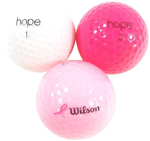 Wilson Hope Recycled Golf Balls (36 Count) [並行輸入品] B073ZJFJCJ