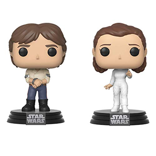 Pop! Vinyl Star Wars - 2PK Han & Leia