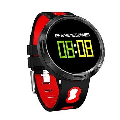 Lemumu X9-V0 del Hombre Mujer Pulsera Reloj inteligente Pantalla color Frecuencia Cardiaca ejercicio de